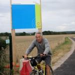 Carton jaune pour la piste cyclable éclairée