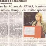 40 ans du ROSO: une réussite saluée